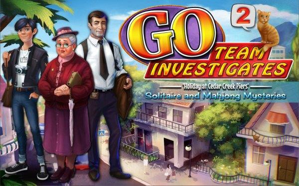 GO Team Investigates 2: Solitaire and Mahjong Mysteries (2021) - полная версия