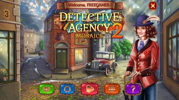Detective Agency Mosaics 2 (2021) - полная версия