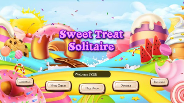 Sweet Treat: Solitaire (2021) - полная версия