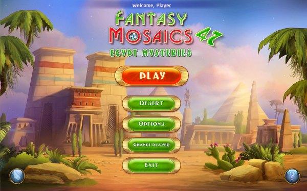 Fantasy Mosaics 47: Egypt Mysteries (2021) - полная версия