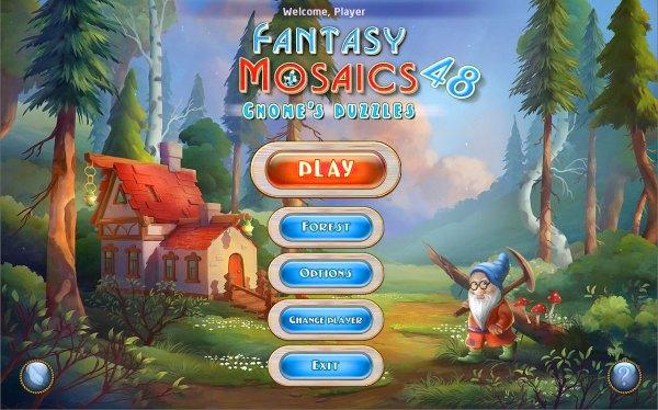 Fantasy Mosaics 48: Gnomes Puzzles (2021) - полная версия